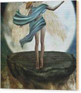 The Guardian Angel Wood Print