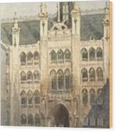 The Guildhall Wood Print
