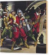 The Gunpowder Plot Wood Print