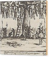 The Hanging Wood Print