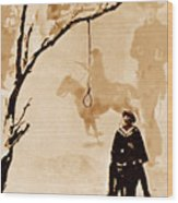 The Hangman's Tree Wood Print