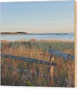 The Harbor Square Wood Print