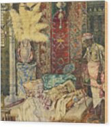 The Harem Wood Print