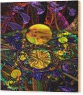 The Harmony Of Truly Cosmic Spheres Wood Print