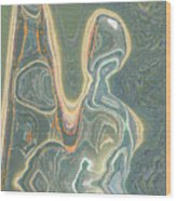 The Harp Player Wood Print