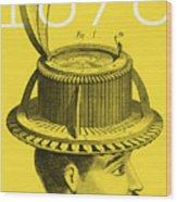 The Hat Conformator Wood Print