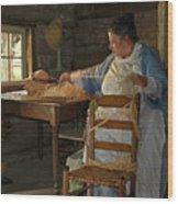 The Hat Maker Wood Print
