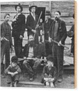 The Hatfields, 1899 Wood Print