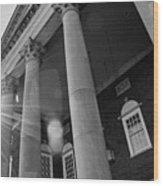 The Haunted Auditorium Wood Print