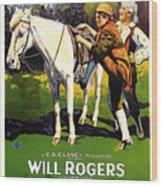 The Headless Horseman 1922 Wood Print