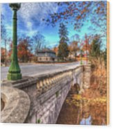 The Headless Horseman Bridge Wood Print