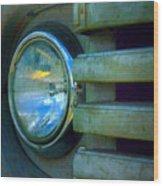 The Headlight Wood Print