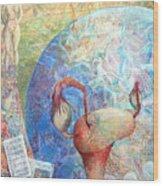 The Healer Set Me Free Wood Print by Arlissa Vaughn