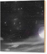 The Heavens Declare The Glory Of God - 2 Wood Print