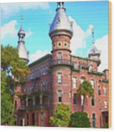 The Henry B. Plant Museum Tampa Fl Wood Print