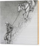 The Herdsman Wood Print