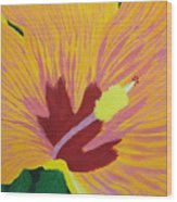 The Hibiscus Wood Print