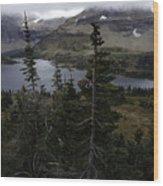 The Hidden Lake Wood Print