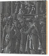 The High Priest Before Pilate [verso] Wood Print