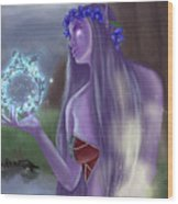 The High Priestess Wood Print