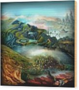 The Highkingdom Of Loch Lein Aka Hesperidean Avalon Wood Print