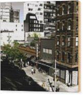 The Highline Wood Print