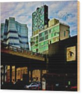 The Highline Nyc Wood Print