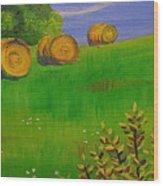 The Hill Wood Print