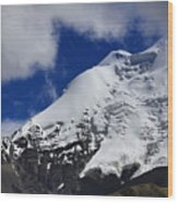 The Himalayas Tibet Yantra.lv 2016  Wood Print