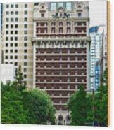 The Historic Adolphus Hotel Wood Print
