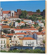 The Historic Town Of Silves In Portugal Wood Print
