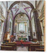 The Historical Church - Iglesia De La Salud Wood Print