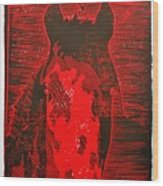 The History Of Fear Wood Print