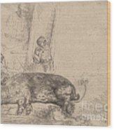The Hog Wood Print