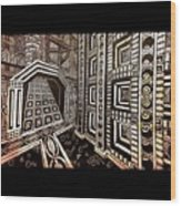 The Hollow Citadel Wood Print