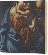 The Holy Family Wood Print