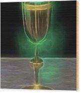 The Holy Grail By Raphael Terra Wood Print