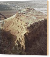 The Holy Land: Masada Wood Print