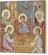 The Holy Trinity Wood Print
