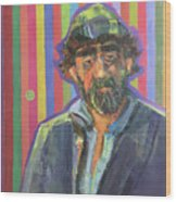 The Homeless Wood Print