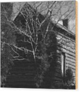 The Homestead Wood Print by Richard Rizzo