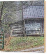 The Honeymoon Lodge Wood Print
