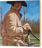 The Horse Trainer No. 2 Wood Print