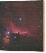 The Horsehead Nebula Wood Print