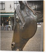 The Horses Head Wood Print