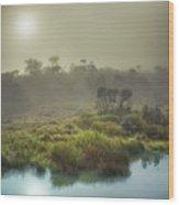 The Horton Plains. Sunrise Wood Print