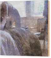The Hotel Room By Mary Bassett Wood Print