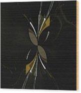The Hourglass Wood Print