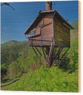 The House On The Tree - La Casa Sull'albero Wood Print