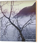 The Hudson Highlands Wood Print